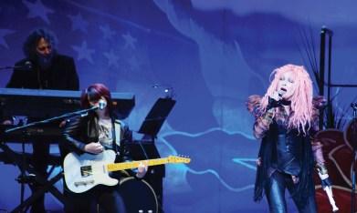 Cyndi Lauper at the Mohegan Sun.