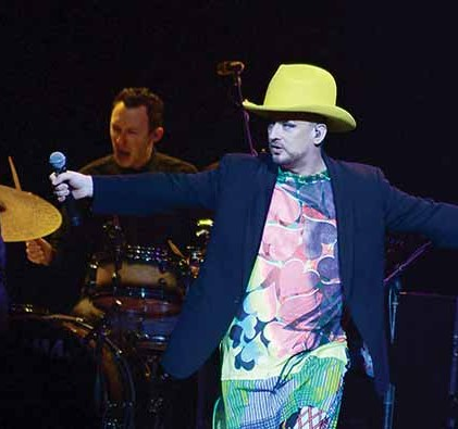 Boy George at the Mohegan Sun Arena, Uncasville, Conn. on May 20.