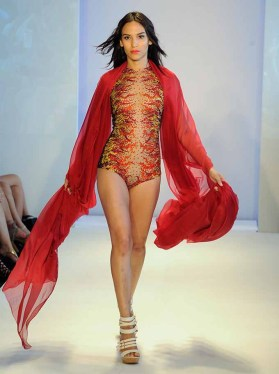 MIAMI, FL - JULY 16: Yas Couture by Elie Madi at the Art Hearts Fashion Miami Swim Week At W Hotel Presented By Planet Fashion TV at W Hotel on July 16, 2016 in Miami, Florida. (Photo by Arun Nevader/Getty Images for Art Hearts Fashion)
