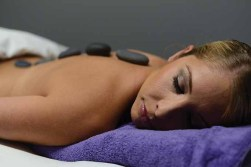 Some massage therapy for Lori-Ann Marchese at Pure Skin in Connecticut.