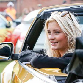 LUEBECK, GERMANY - AUGUST 20: German actress Luna Schweiger attends the 12th Beetle Sunshine Tour To Travemuende the 12th Beetle Sunshine Tour on August 20, 2016 in Luebeck, Germany. (Photo by Franziska Krug/Getty Images for Beetle Sunshine Tour)