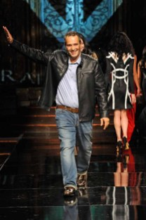 NEW YORK, NY - SEPTEMBER 12: Designer Ibrahim Vukel walks the runway at Art Hearts Fashion NYFW The Shows presented by AIDS Healthcare Foundation at The Angel Orensanz Foundation on September 12, 2016 in New York City. (Photo by Arun Nevader/Getty Images for Art Hearts Fashion )