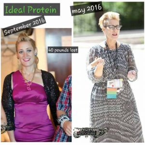 Patricia Miller's transformation since May.