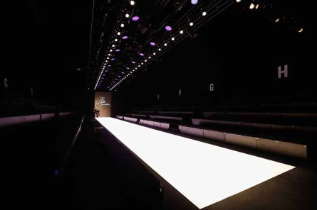 ISTANBUL, TURKEY - OCTOBER 12: A general view of the runway during Mercedes-Benz Fashion Week Istanbul at Zorlu Center on October 12, 2016 in Istanbul, Turkey. (Photo by Tristan Fewings/Getty Images for IMG)