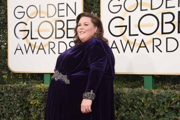 """Nominated for BEST PERFORMANCE BY AN ACTRESS IN A SUPPORTING ROLE IN A SERIES, MINI-SERIES OR MOTION PICTURE MADE FOR TELEVISION for her role in """"This Is Us,"""" actress Chrissy Metz attends the 74th Annual Golden Globes Awards at the Beverly Hilton in Beverly Hills, CA on Sunday, January 8, 2017."""