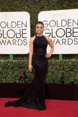 Susan Kelechi Watson attends the 74th Annual Golden Globes Awards at the Beverly Hilton in Beverly Hills, CA on Sunday, January 8, 2017.