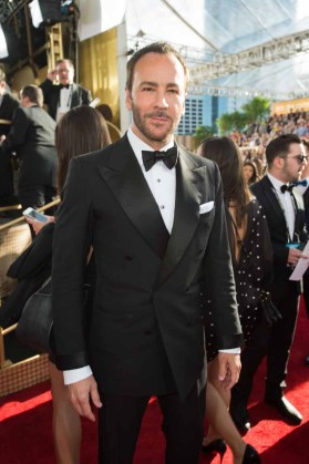 """Nominated for BEST SCREENPLAY – MOTION PICTURE for """"Nocturnal Animals,"""" Tom Ford attends the 74th Annual Golden Globes Awards at the Beverly Hilton in Beverly Hills, CA on Sunday, January 8, 2017."""