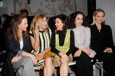 BERLIN, GERMANY - JANUARY 18: (L-R) Alexandra Neldel, Ursula Karven, Viktoria Lauterbach, Stephanie Stumph and Judith Rakers attend the Laurel show during the Mercedes-Benz Fashion Week Berlin A/W 2017 at Kaufhaus Jandorf on January 18, 2017 in Berlin, Germany. (Photo by Isa Foltin/Getty Images for Laurel) *** Local Caption *** Alexandra Neldel;Ursula Karven;Viktoria Lauterbach;Stephanie Stumph;Judith Rakers