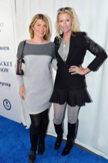 Meredith Ostrom, Mary Snow== The Blue Jacket Fashion Show to Benefit the Prostate Cancer Foundation== Pier 59 Studios, NYC== February 1, 2017== ©Patrick McMullan== photo - Patrick McMullan/PMC== == Meredith Ostrom; Mary Snow
