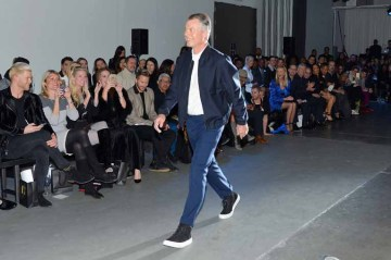 Richard Johnson== The Blue Jacket Fashion Show to Benefit the Prostate Cancer Foundation== Pier 59 Studios, NYC== February 1, 2017== ©Patrick McMullan== photo - Patrick McMullan/PMC== == Richard Johnson