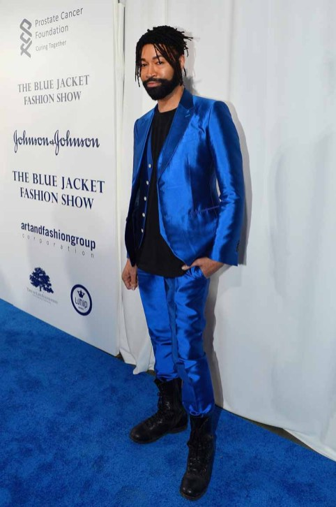 Ty Hunter== The Blue Jacket Fashion Show to Benefit the Prostate Cancer Foundation== Pier 59 Studios, NYC== February 1, 2017== ©Patrick McMullan== photo - Patrick McMullan/PMC== == Ty Hunter