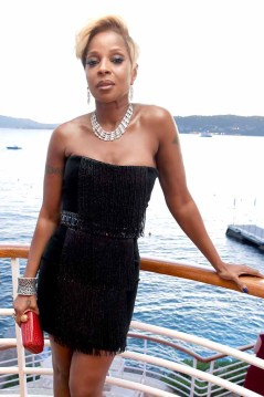 CAP D'ANTIBES, FRANCE - MAY 20: Mary J. Blige attends the Vanity Fair and HBO Dinner celebrating the Cannes Film Festival at Hotel du Cap-Eden-Roc on May 20, 2017 in Cap d'Antibes, France. (Photo by David M Benett/Dave Benett / Getty Images for Vanity Fair)