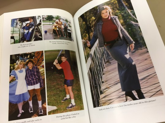 Some of the throwback images Ashley Graham shares in her new book, 'A New Model.'