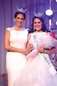 Brooke Cyr with Miss Connecticut 2016 Alyssa Taglia.