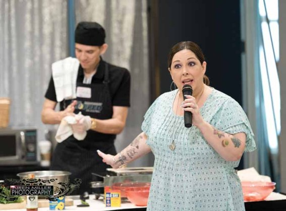 Carnie Wilson at the Weight Loss Surgery Foundation America gathering in Portland, Ore. (AIREN MILLER)