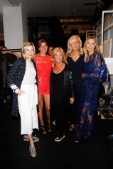 BERLIN, GERMANY - JULY 04: US Ambassador to Germany Kimberly Emerson, Marie-Jeanette Ferch, designer Elisabeth Schwaiger, Judith Milberg and Ursula Karven attend the Laurel show during the Mercedes-Benz Fashion Week Berlin Spring/Summer 2018 at Kaufhaus Jandorf on July 4, 2017 in Berlin, Germany. (Photo by Franziska Krug/Getty Images for Laurel) *** Local Caption *** Judith Milberg;Elisabeth Schwaiger;Ursula Karven;Kimberly Emerson;Marie-Jeanette Ferch