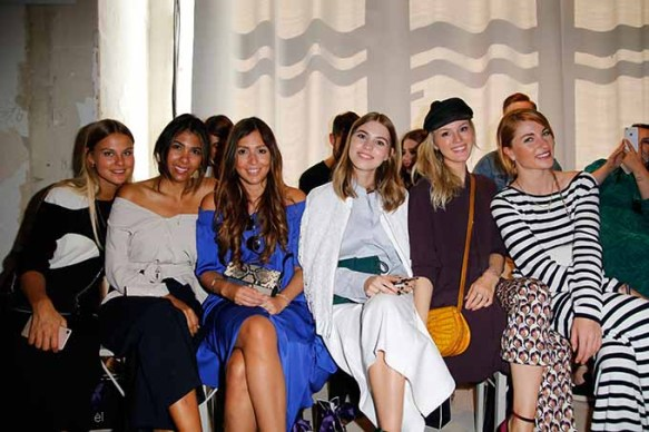 BERLIN, GERMANY - JULY 04: Guests attend the Laurel show during the Mercedes-Benz Fashion Week Berlin Spring/Summer 2018 at Kaufhaus Jandorf on July 4, 2017 in Berlin, Germany. (Photo by Isa Foltin/Getty Images for Laurel)
