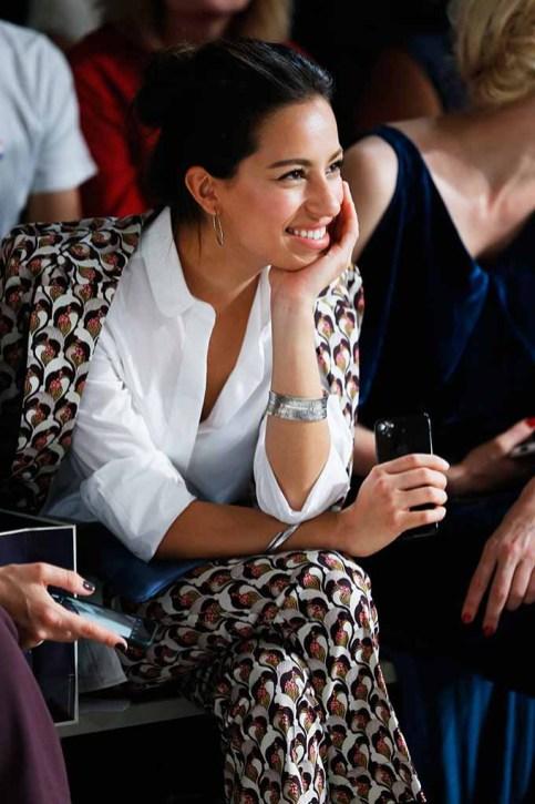 BERLIN, GERMANY - JULY 04: Gizem Emre attends the Laurel show during the Mercedes-Benz Fashion Week Berlin Spring/Summer 2018 at Kaufhaus Jandorf on July 4, 2017 in Berlin, Germany. (Photo by Franziska Krug/Getty Images for Laurel) *** Local Caption *** Gizem Emre