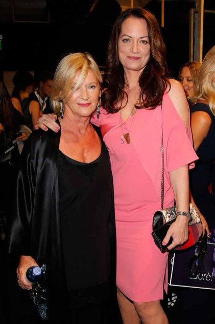 BERLIN, GERMANY - JULY 04: Designer Elisabeth Schwaiger and Natalia Woerner attend the Laurel show during the Mercedes-Benz Fashion Week Berlin Spring/Summer 2018 at Kaufhaus Jandorf on July 4, 2017 in Berlin, Germany. (Photo by Isa Foltin/Getty Images for Laurel) *** Local Caption *** Elisabeth Schwaiger;Natalia Woerner