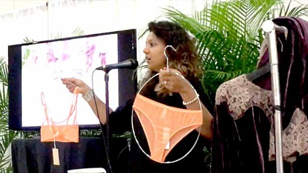 Experts from Promostyl speak about the latest trends in lingerie, including pieces in tangerine.