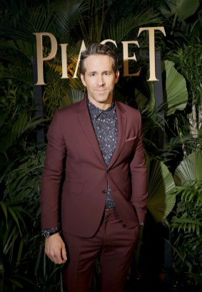 GENEVA, SWITZERLAND - JANUARY 15: Brand ambassador Ryan Reynolds attends the #Piaget dinner at the Country Club during the #SIHH2018 on January 15, 2018 in Geneva, Switzerland. (Photo by Remy Steiner/Getty Images for Piaget) *** Local Caption *** Ryan Reynolds