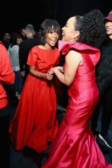 NEW YORK, NY - FEBRUARY 08: Zuri Hall (L) and Actor Lynn Whitfield attend the American Heart Association's Go Red For Women Red Dress Collection 2018 presented by Macy's at Hammerstein Ballroom on February 8, 2018 in New York City. (Photo by Astrid Stawiarz/Getty Images for AHA) *** Local Caption *** Zuri Hall;Lynn Whitfield