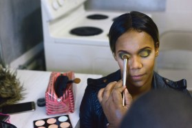 Behind the scenes at The Great Gatsby vs Harlem Nights Fashion Gala.