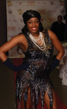 The Trinity Styles runway show at The Great Gatsby vs Harlem Nights Fashion Gala.