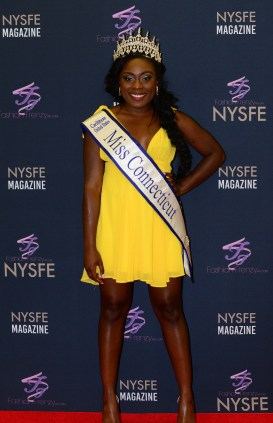 Miss Connecticut Caribbean United States Shanai Chambers.