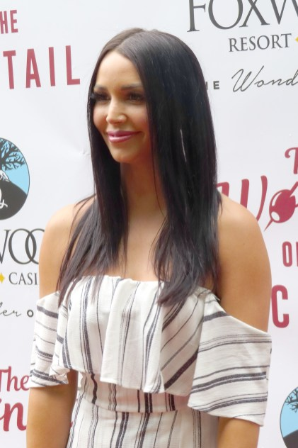 Scheana Shay on the red carpet at 'The Wonder of the Cocktail' at Foxwoods Resort Casino in Mashantucket, Conn.