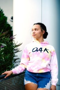 Rielley Coles in OAK Apparel.