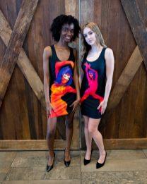 Models: Brandi Rennelle Jessup and Najani Hooks HMUA/STYLING: https://paulmitchell.edu/knoxville Designer/Photographer: Ron Vestal/ Glow-art.com