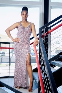Aicha Diallo wears Tiffany Designs.
