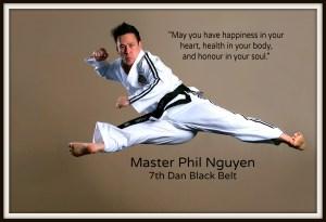 Master Phil Nguyen, 7th Dan