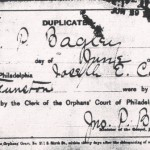thumbnail image of Carman Funston marriage duplicate certificate