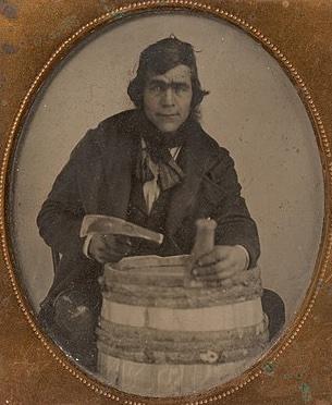 Illustrative photo of a barrel maker.