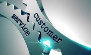 Customer service on cogwheels