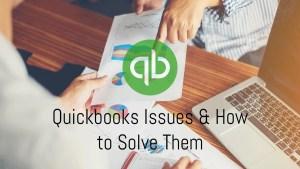 Resolve Quickbooks Issues