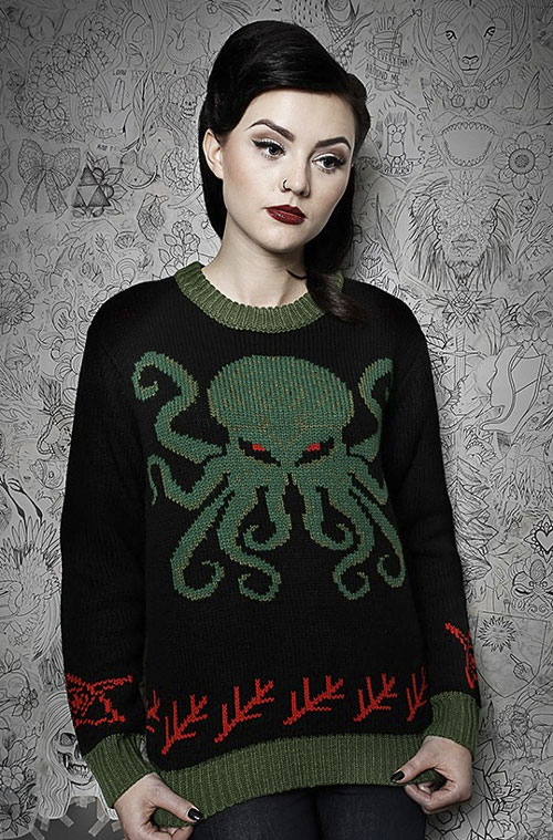 Cthulhu Lovecraft Sweater Cthulhu Shop