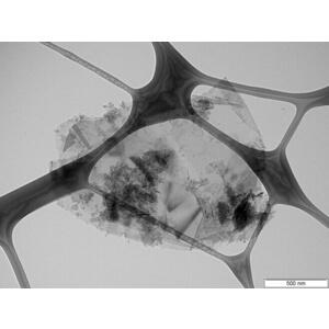 Graphene Nanoplatelets TEM image