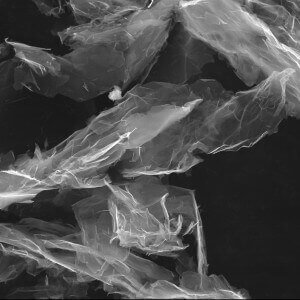 Graphene Nanoplatelets Non Functionalized SEM image