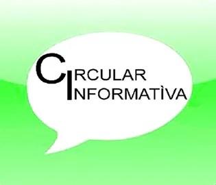 CIRCULAR INFORMATIVA – 08