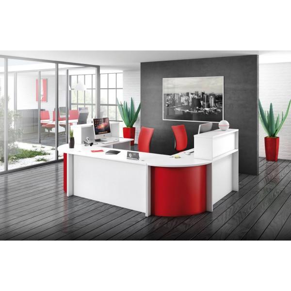 banque d accueil come in module droit hauteur bureau l 120 x h 75 8 x p 70 cm ctmi sprl