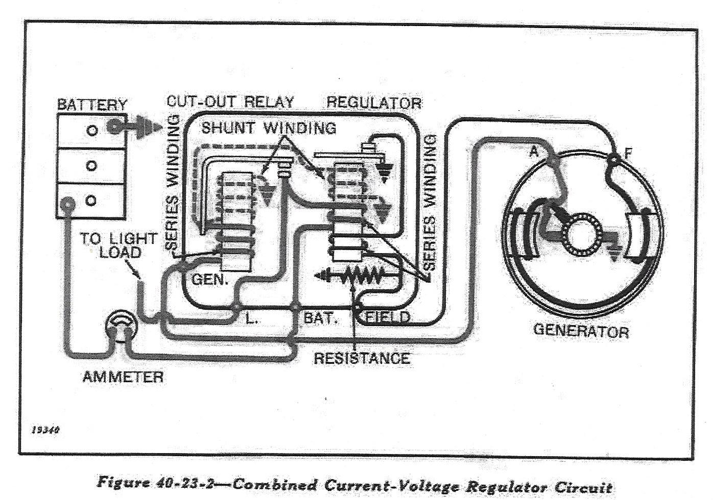 lucas voltage regulator wiring diagram