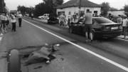 Motociclist omorat la Poarta Albă