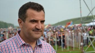 Valentin Vrabie, primarul comunei Peștera. FOTO Adrian Boioglu