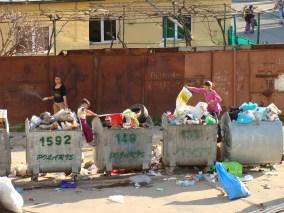 Gunoaie în Constanța. FOTO TNL