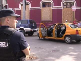 Scena agresiunii din centrul orașului Constanța