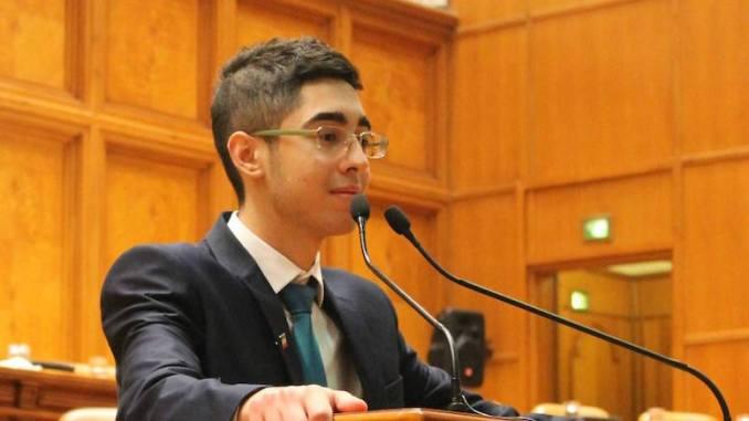 Constantin Alexandru Manda, președintele Asociației Elevilor din Constanța