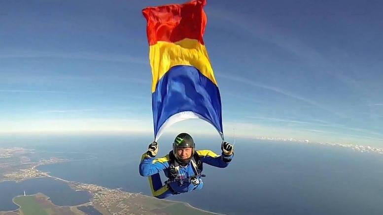Parașutistul Adrian Constandache, victima unui accident în aer. FOTO Facebook